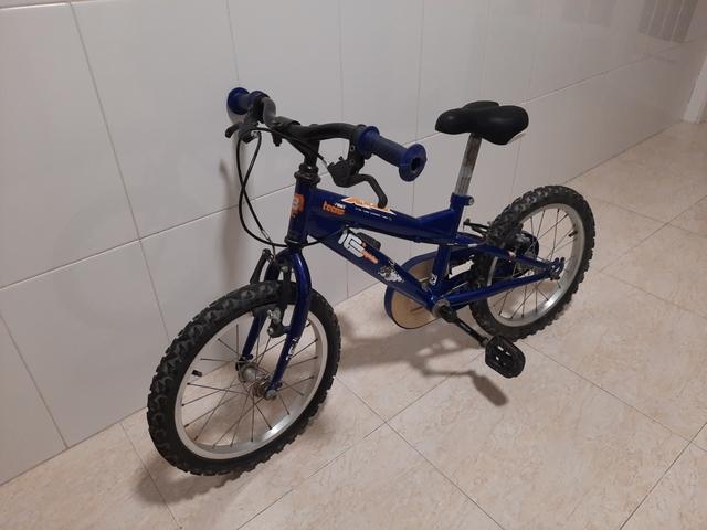 Bicicleta 16\' En Perfecto Estado.