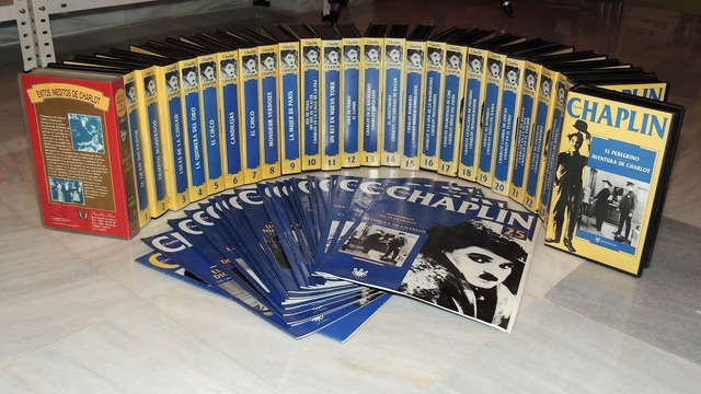 Coleccion Video Chaplin.
