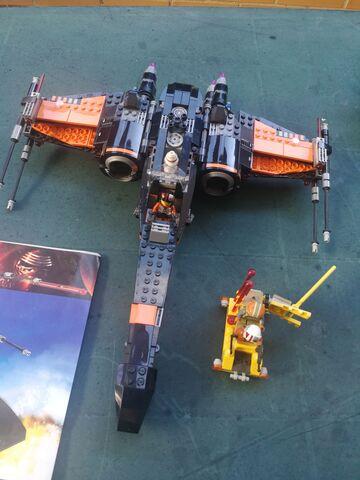 Lego Star Wars 75102 Montado.