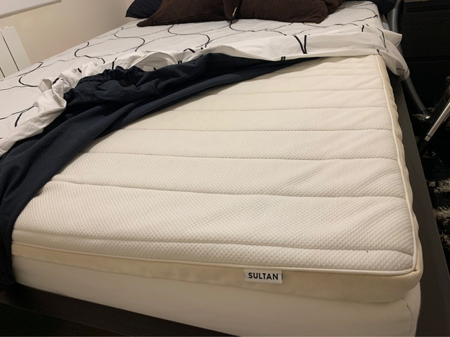 ikea sultan huglo mattress price