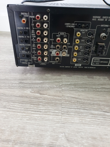 AMPLIFICADOR JVC RX-7010RBK - foto 8