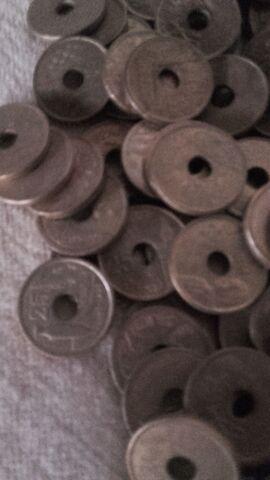 Lote De 500 Monedas De 25 Pesetas De Agu