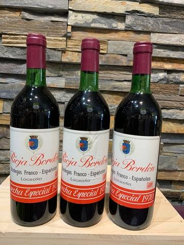 Rioja Bordon 1969 Y 1970