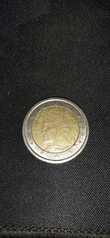 Moneda 2 Euros Italia 2002 Única