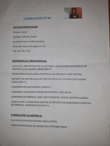 URGE: BUSCO  TRABAJO DE CAMIÓN RIGIDO - foto 2