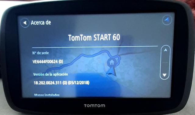GPS TOMTOM START 60 - foto 1