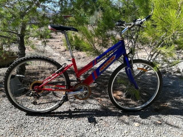 Bicicleta Montaña Alumin 21 Velocidades