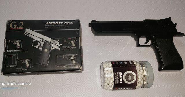 Pistola Juguete Armería