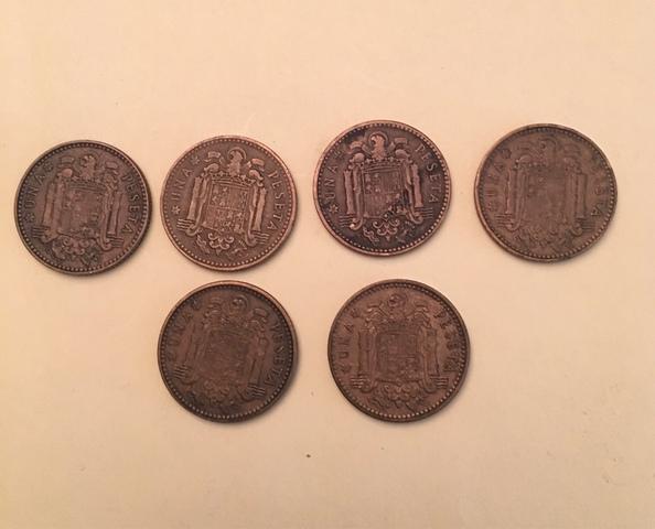Moneda 1 Pesetas De Franco