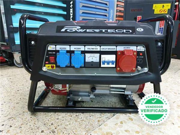 Generador Electrico Powertech Motor Gaso