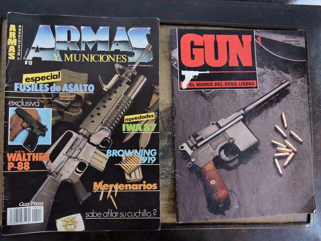 REVISTA ARMAS Y MUNICIONES Y GUN - foto 1