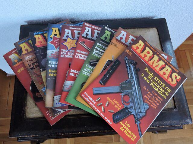 REVISTA ARMAS 9 UNIDADES.  - foto 1