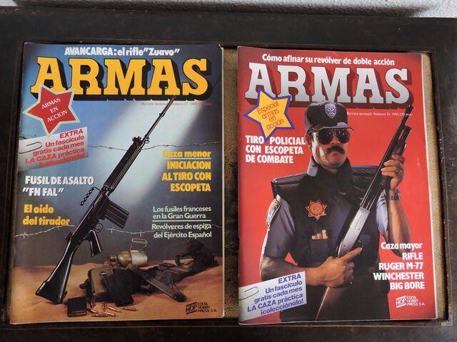REVISTA ARMAS 9 UNIDADES.  - foto 4