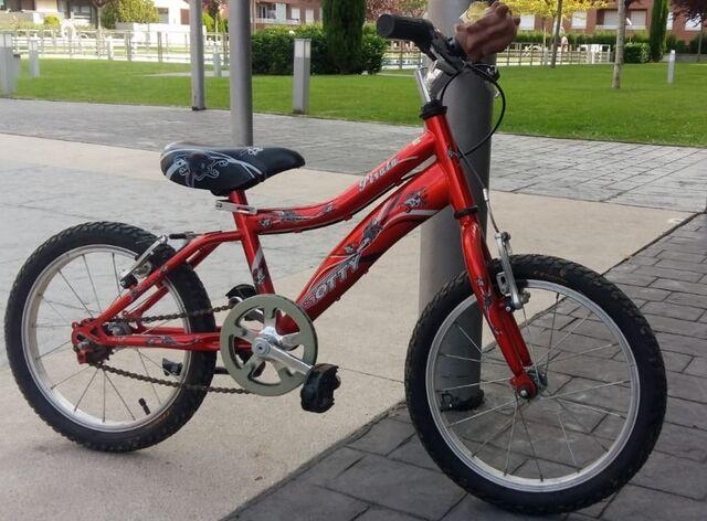 Se Vende Bicicleta Niño De 4 A 7 Años