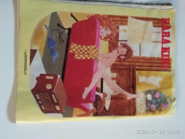 COMIC HARAKIRI N48 ED 1980 - foto 3