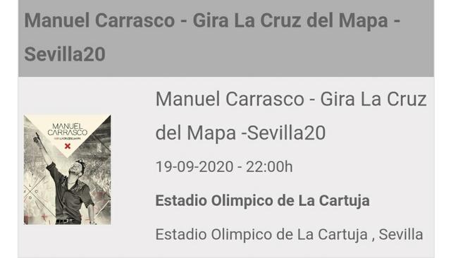 CONCIERTO MANUEL CARRASCO.  - foto 1