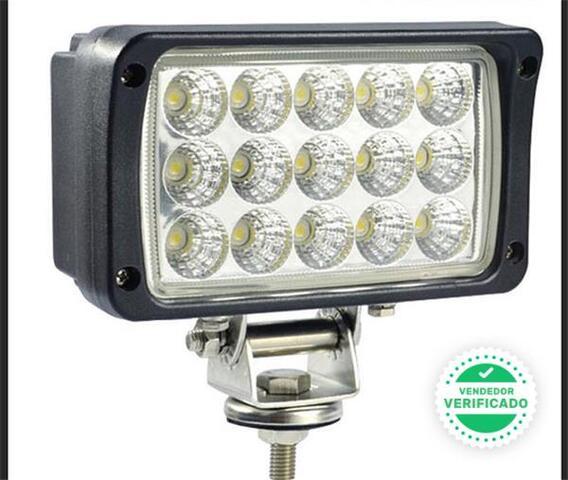 FOCO 45W 15 LED 12-24V BARCOS TRACTOR - foto 1