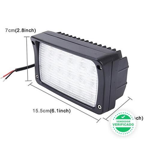 FOCO 45W 15 LED 12-24V BARCOS TRACTOR - foto 2