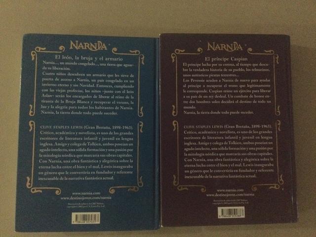 LIBROS DE LAS CRÓNICAS DE NARNIA - foto 2