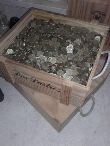 2000 Monedas De 5 Pesetas