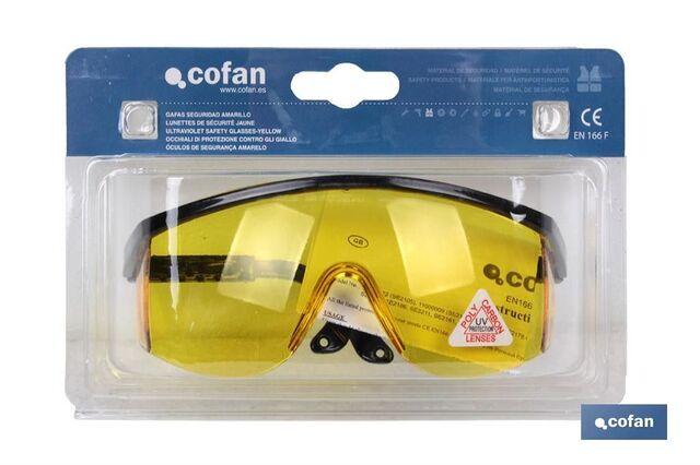 Blister Gafas Seguridad Ultravioleta