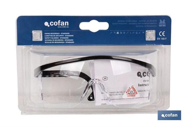 Blister Gafas Seguridad Contraimpacto