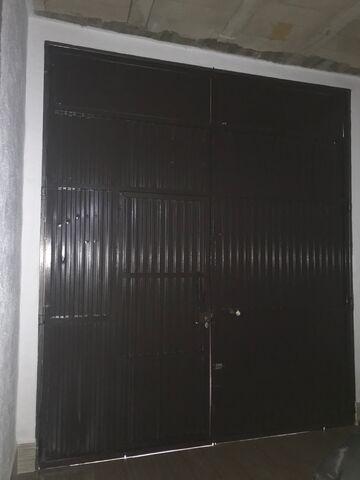 Puerta De Hierro De Garaje