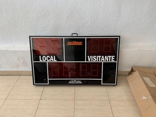 MARCADOR ELECTRONICO DE BALONCESTO - foto 2