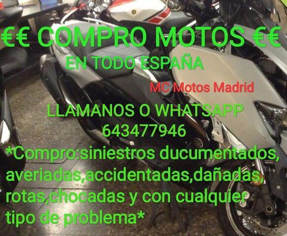 COMPRO MOTOS CON DAÑOS Y MAS EN HUESCA - foto 1