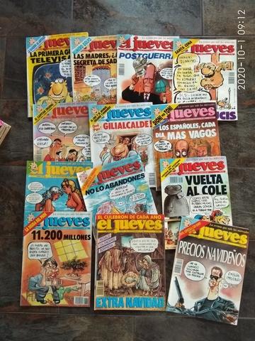 LOTE 13 REVISTAS JUEVES 1991 - foto 1