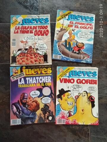 LOTE 4 REVISTAS JUEVES 1990 - foto 1