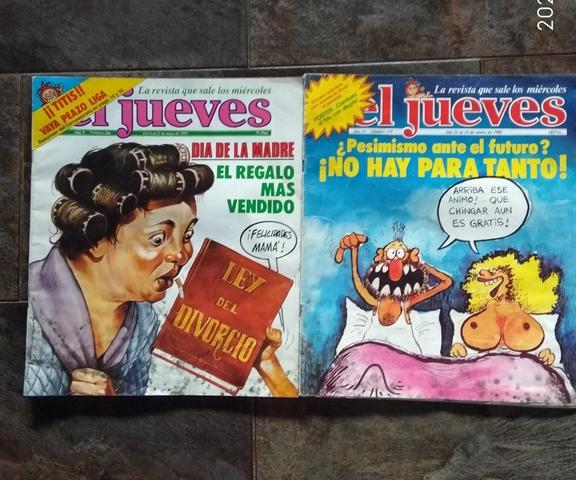 2 REVISTAS JUEVES 1980/1981 - foto 1