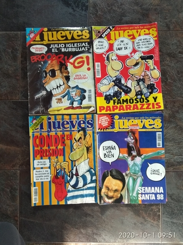 4 REVISTAS JUEVES 1997/1998 - foto 1