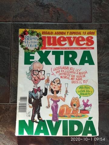 REVISTA JUEVES EXTRA NAVIDAD 1992 N 811 - foto 1