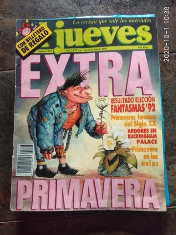 REVISTA JUEVES EXTRA PRIMAVERA 1993 - foto 1