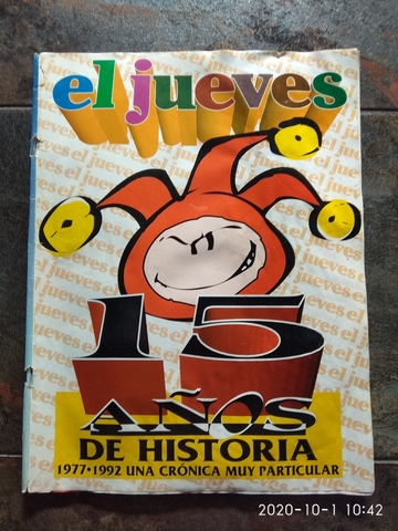 REVISTA JUEVES 15 AÑOS DE HISTORIA 77-92 - foto 1