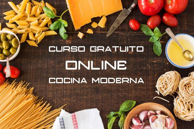 CURSO GRATUITO ON LINE- COCINA MODERNA - foto 1