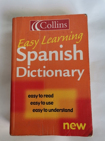 SPANISH DICTIONARY COLLINS EASY LEARNING - foto 1