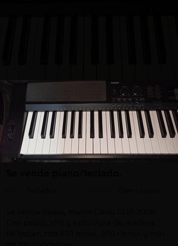 SE VENDE PIANO/TECLADO - foto 6