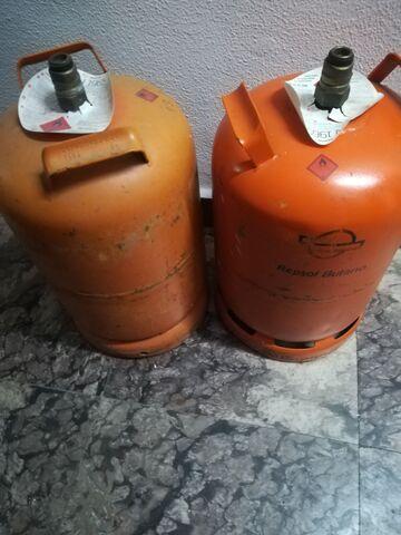 Vendo 2 Bombonas Vacias Naranjas