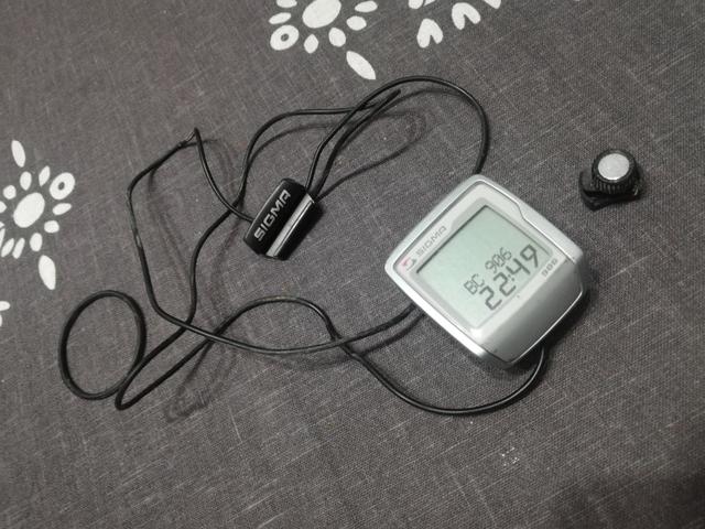 Cuentakilómetros Bici