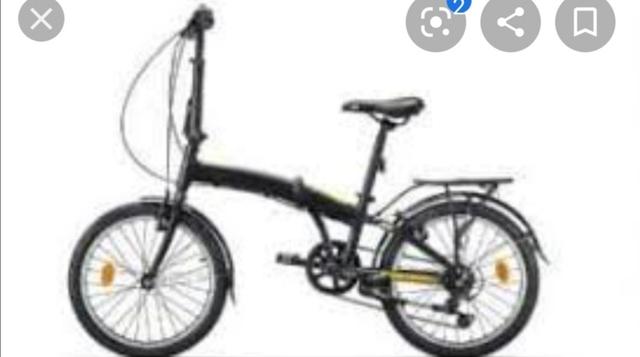 Bicicleta Plegable,  Con Cambios