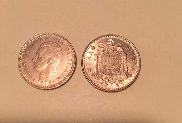 Moneda De 1 Peseta (Rubia) Juan Carlos I