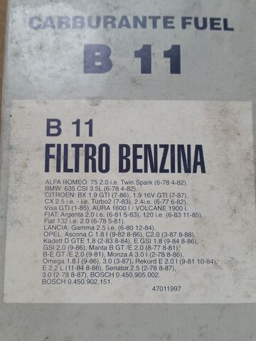 FILTROS NUEVOS GASOLINA TECNOCAR - foto 2