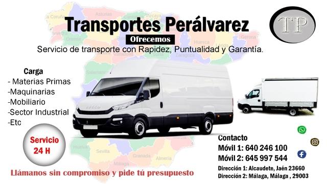 TRANSPORTES PERÁLVAREZ - foto 1