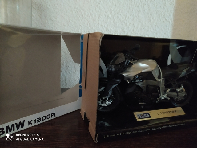 Bmw K1300R Escala 1/12