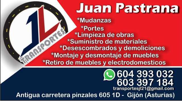 PORTES Y MUDANZAS - TRANSPORTES JL - foto 1