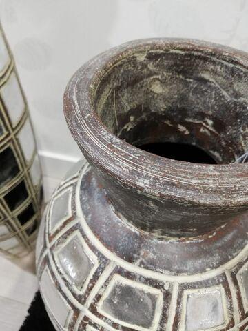 JARRONES DE TERRACOTA PLATEADOS NUEVOS - foto 6