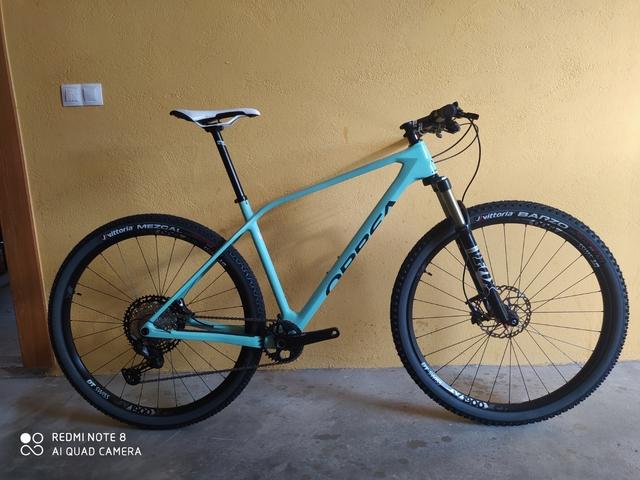 Orbea Alma 2021 Cuadro Carbono.