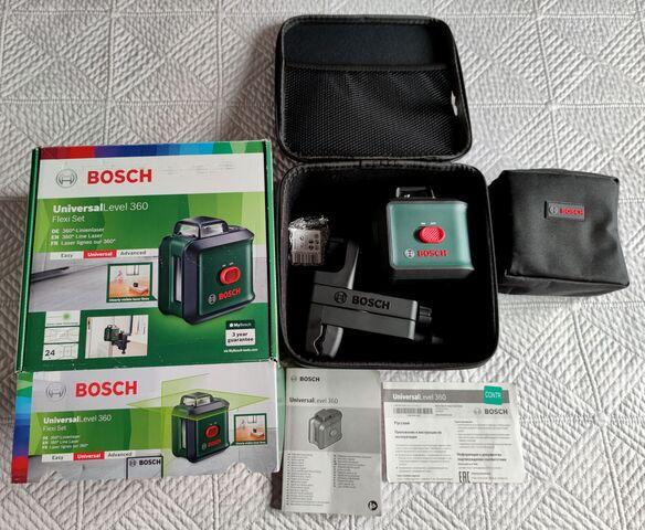 Nivel Laser Bosch 360 Flexi Set - Nuevo